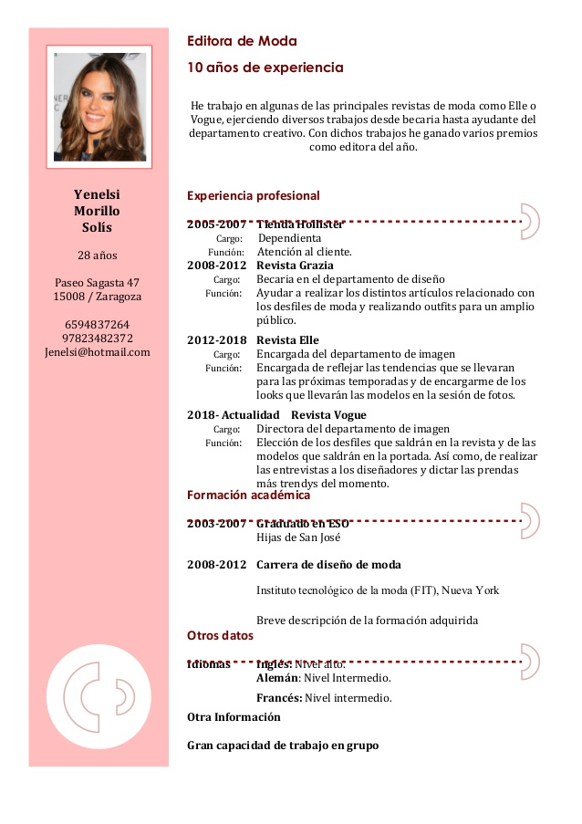 curriculum more information