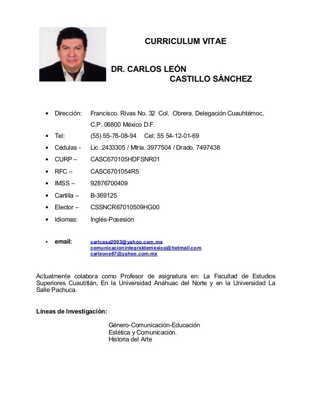 curriculum vitae mexico  Bolsa de Trabajo CDMX Mexico | Busco Empleo Gratis