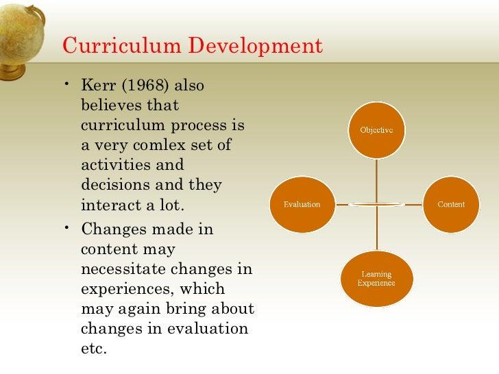 essay curriculum development