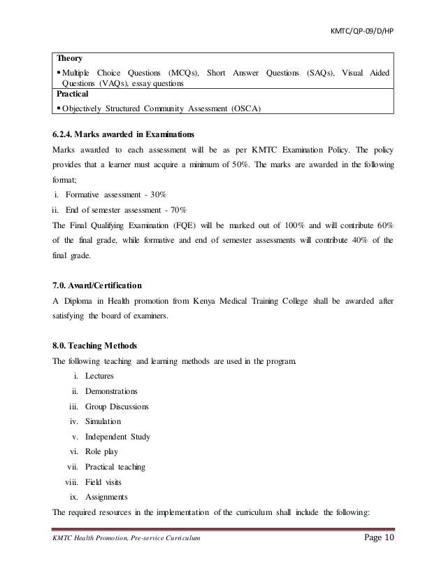 Essay community health nursing needs assessment