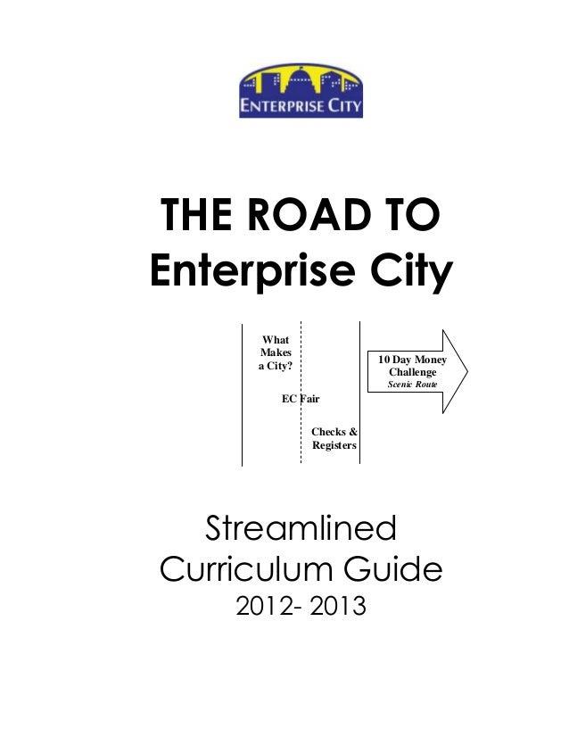 Enterprise City Curriculum Guide
