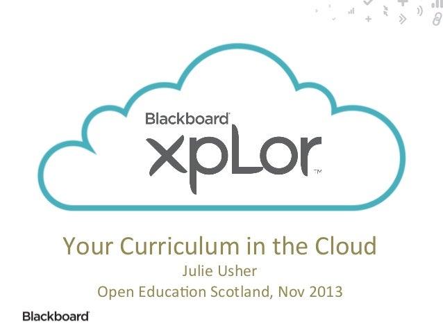Open Education event - Open Repositories xplor