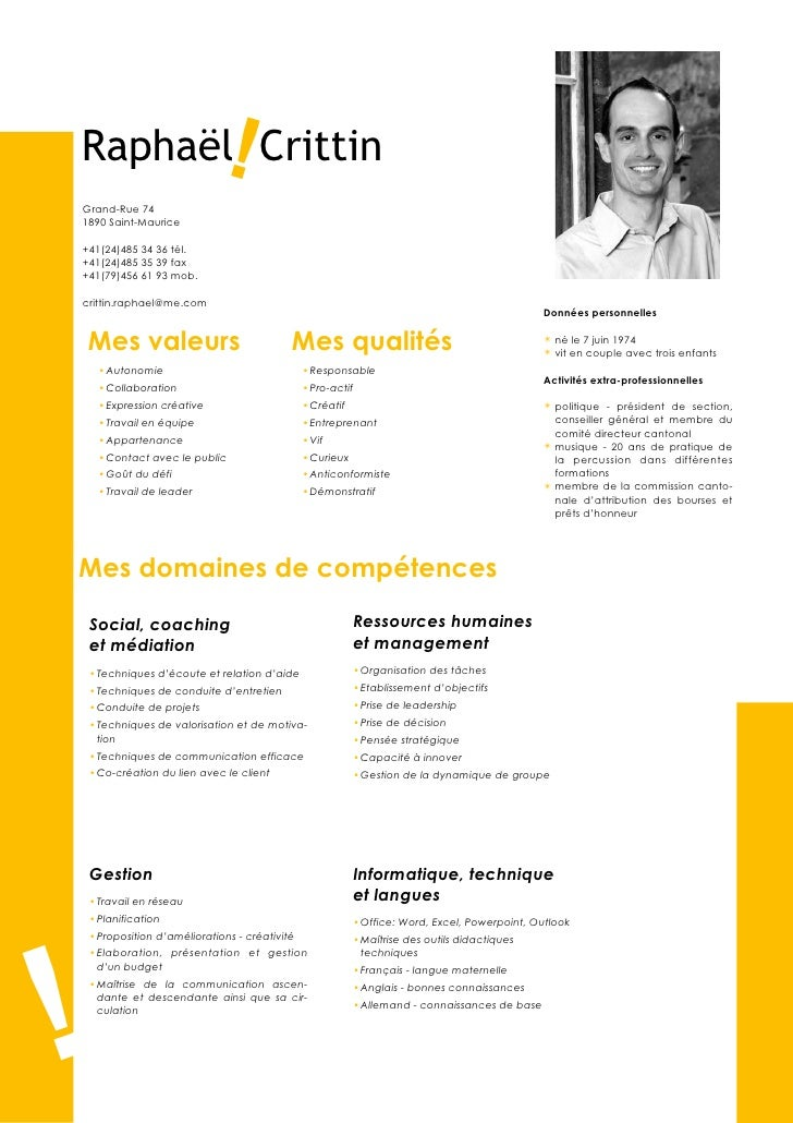 modele cv educateur technique specialise