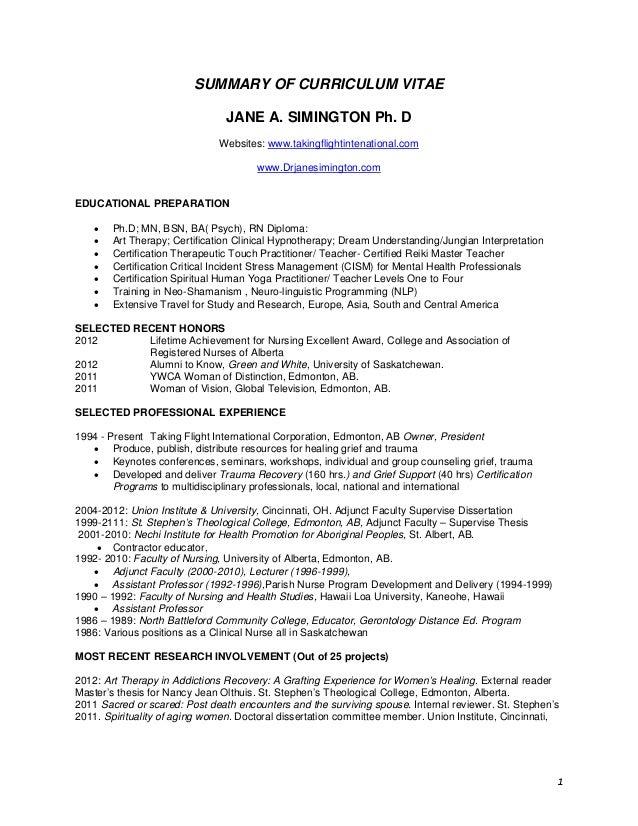 28 what goes in the summary of a resume sle
