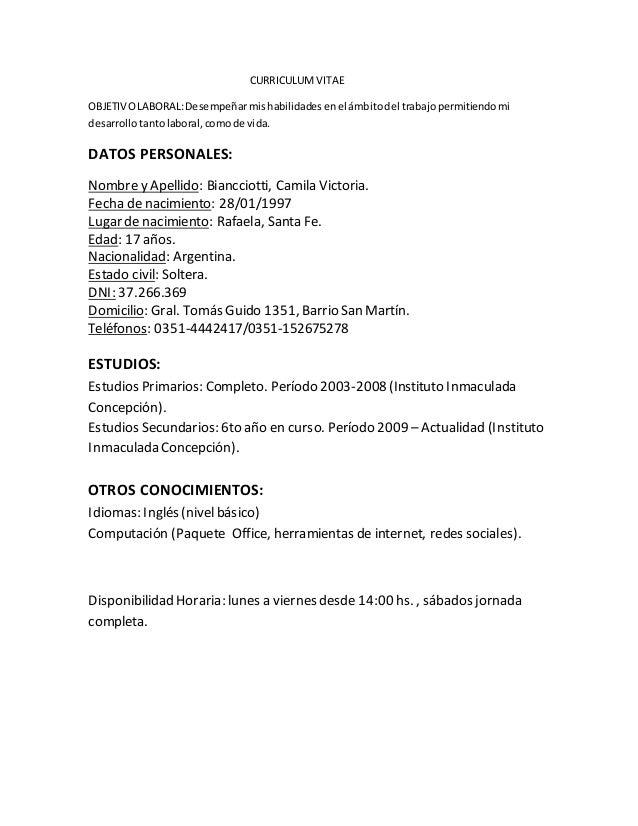 Concepto de carta curriculum vitae - biba.com.au