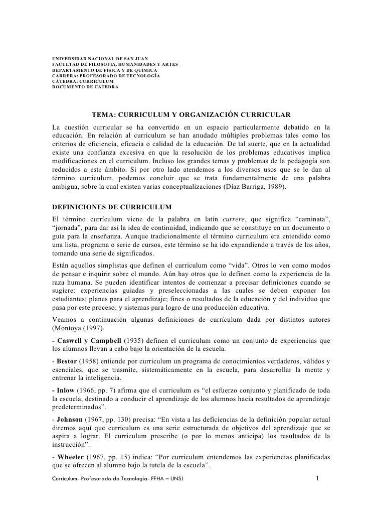 UNIVERSIDAD NACIONAL DE SAN JUANFACULTAD DE FILOSOFIA, HUMANIDADES Y ARTESDEPARTAMENTO DE FÍSICA Y DE QUÍMICACARRERA: PROF...