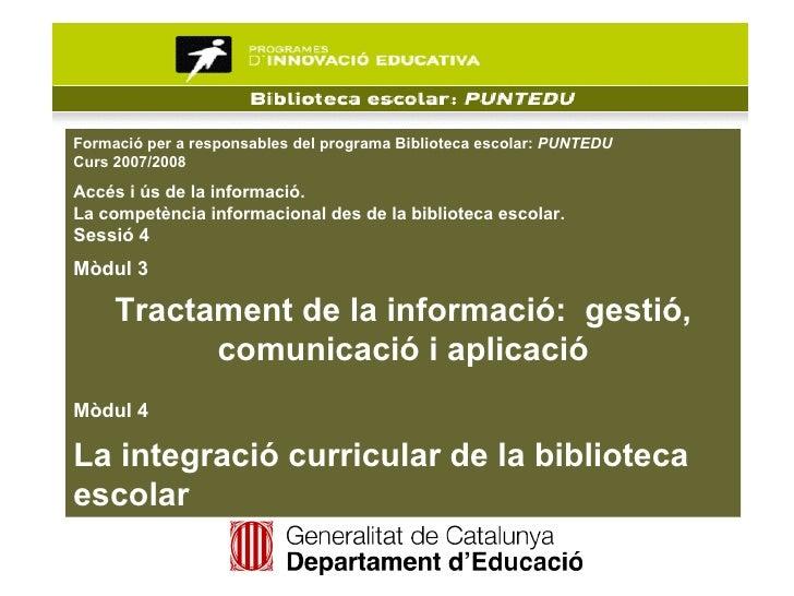 Accés a la informació