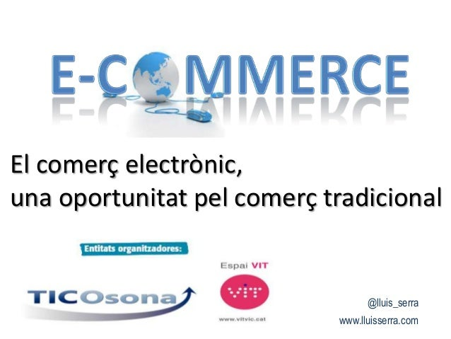 Jornada eCommerce TicOsona [Català]