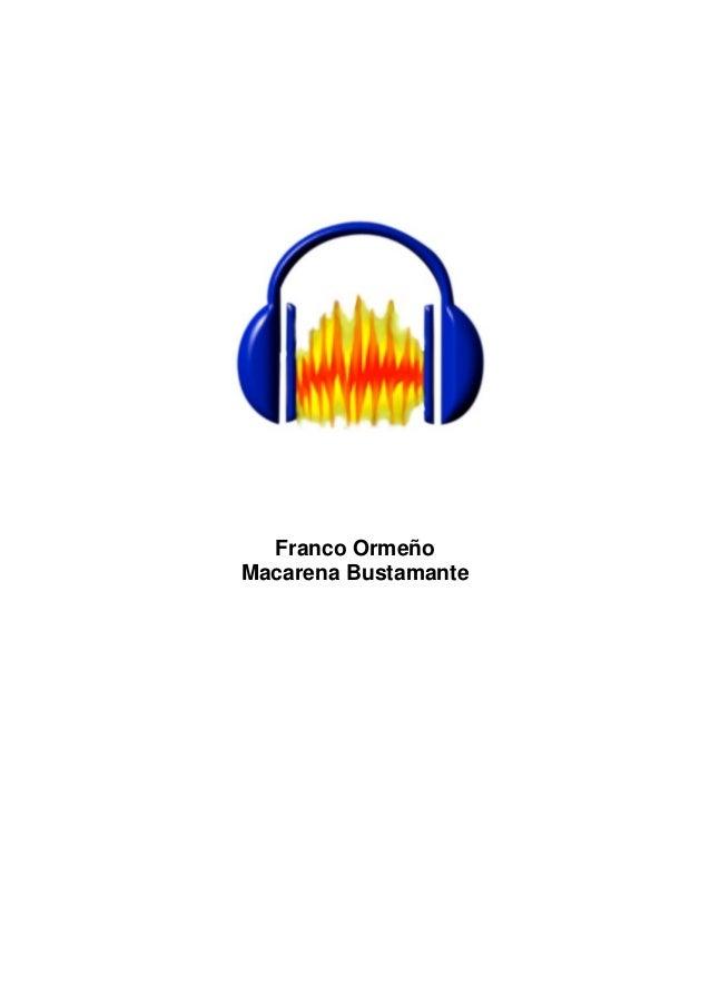 Curso audacity - Escuela Abierta