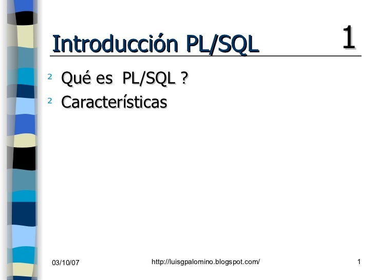 Curso Básico de Pl Sql Oracle