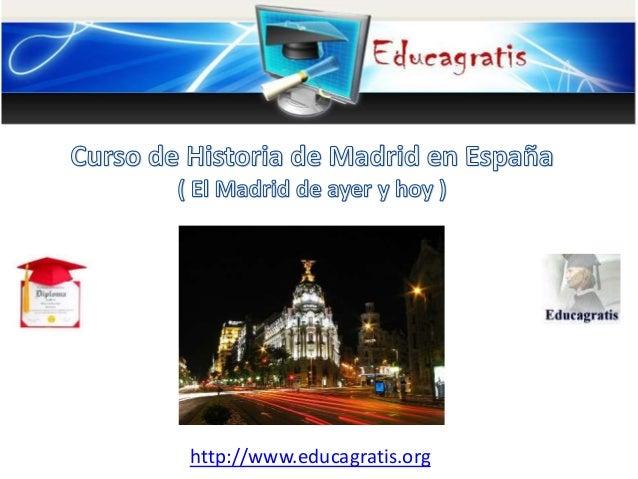 Curso de historia de madrid for Curso de escaparatismo madrid