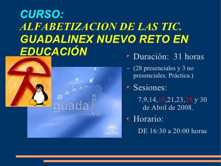 Curso Guadalinex