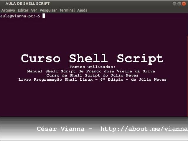 Curso shell