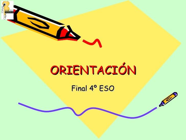 Curso 4º Eso EleccióN Profesional 05 3 10