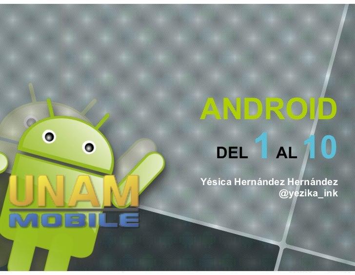 Introducción a Android: 10 cosas importantes que hay que entender