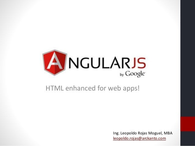Introducción a AngularJS