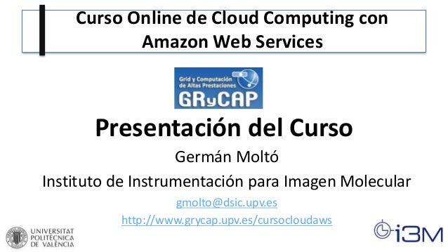 Curso Online de Cloud Computing con Amazon Web Services (AWS)