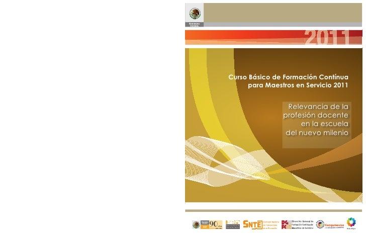 2011                                                                                     Curso Básico de Formación Contínu...