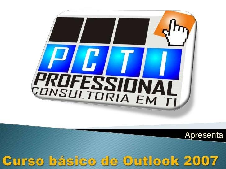 Curso básico de outlook 2007