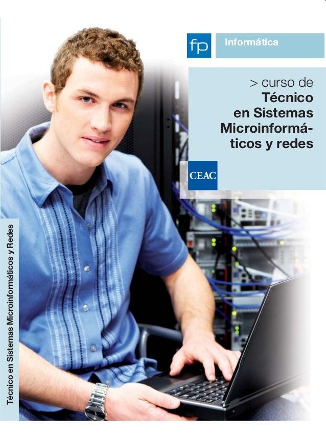 Curso CEAC mes de Marzo: Sistemas microinformáticos y redes