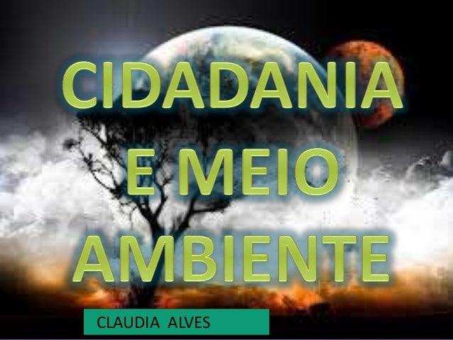 CLAUDIA ALVES