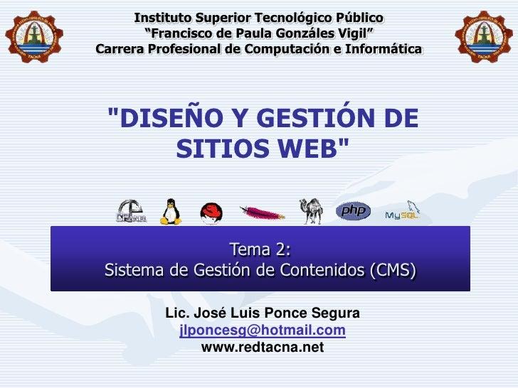 "Instituto Superior Tecnológico Público""Francisco de Paula Gonzáles Vigil""Carrera Profesional de Computación e Informática<..."