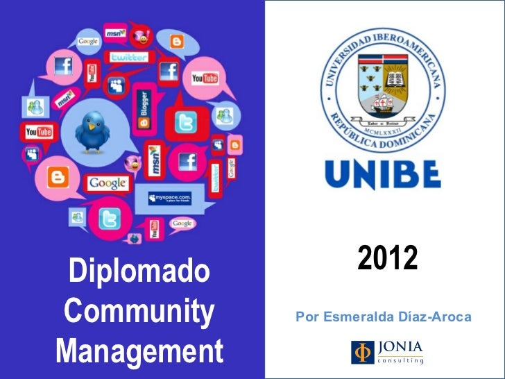 Curso 2012 Community Man@gement Unibe (Republica Dominicana)