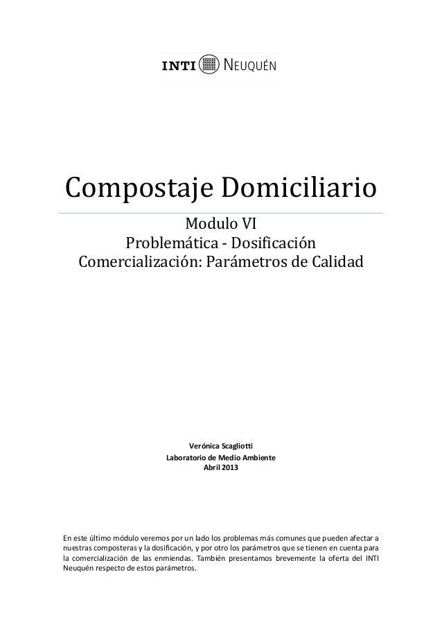 Curso compost modulo VI