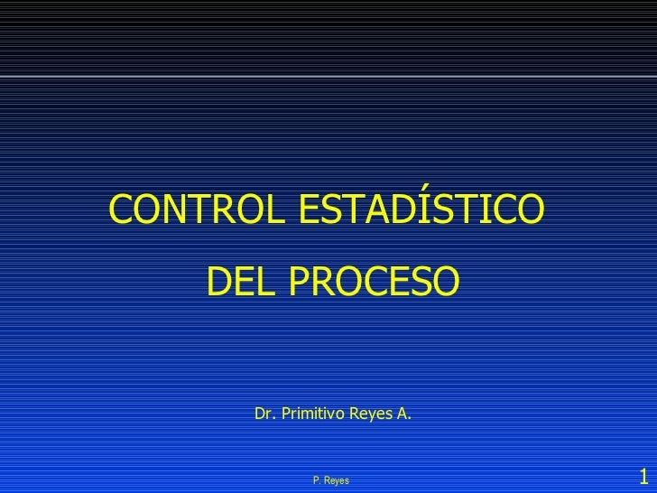 Curso Control Estadístico del Proceso