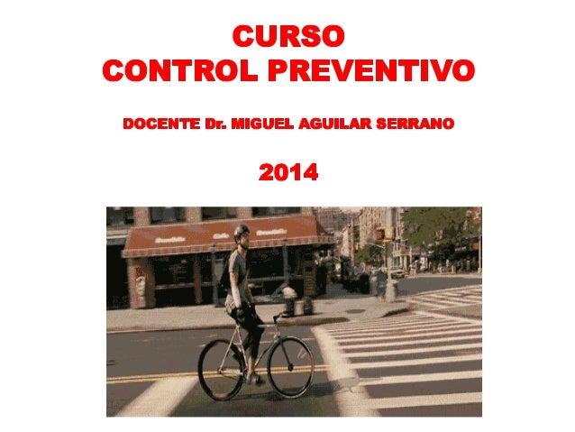 Curso Control Preventivo FEB.2014