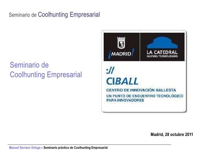 CIBALL - Introducción al Coolhunting