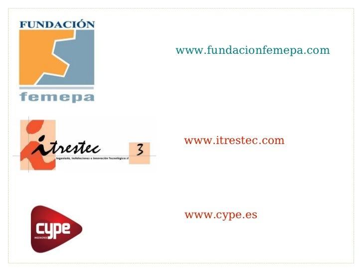 www.itrestec.com www.fundacionfemepa.com www.cype.es