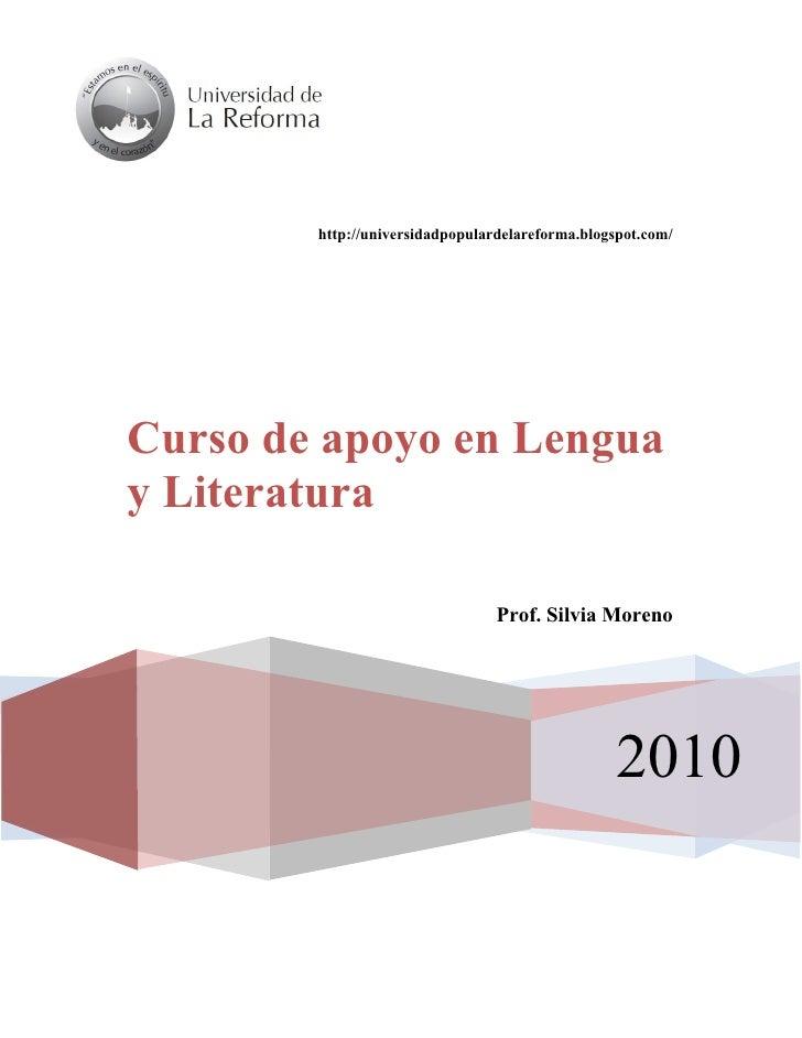 http://universidadpopulardelareforma.blogspot.com/     Curso de apoyo en Lengua y Literatura Comprensión de la realidad a ...