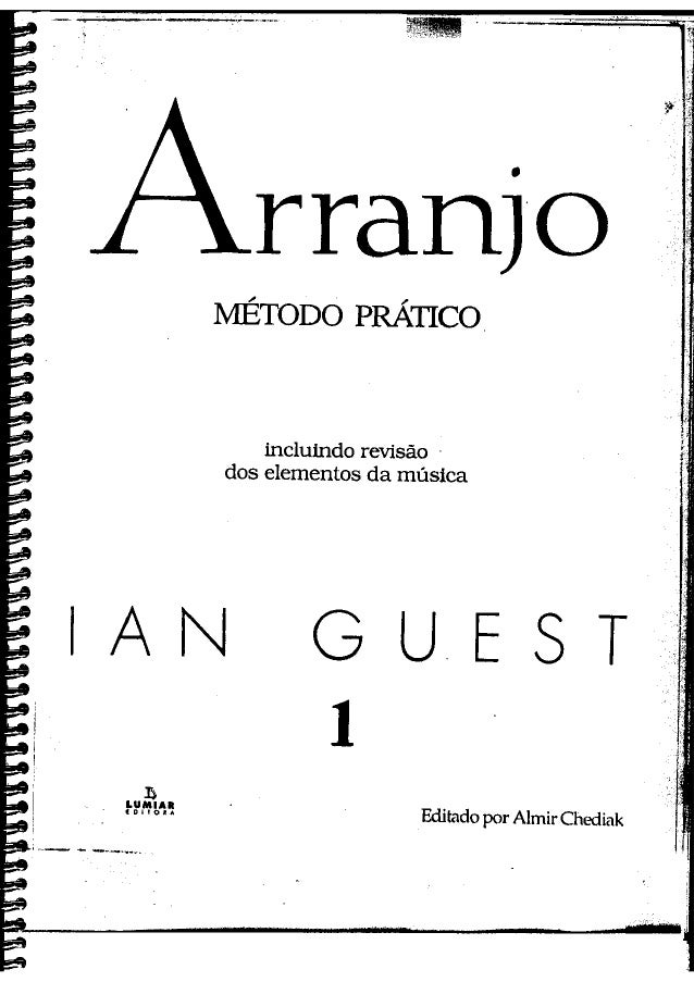 Curso de arranjo ian guest vol  1 & 2