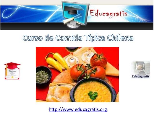 Curso de Comida Típica Chilena