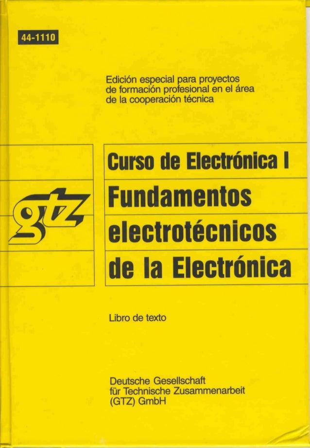 Curso de electronica i fee 01 libro de texto