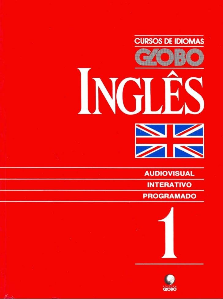 Curso de idiomas globo ingl s livro 001 for Curso de interiorismo gratis