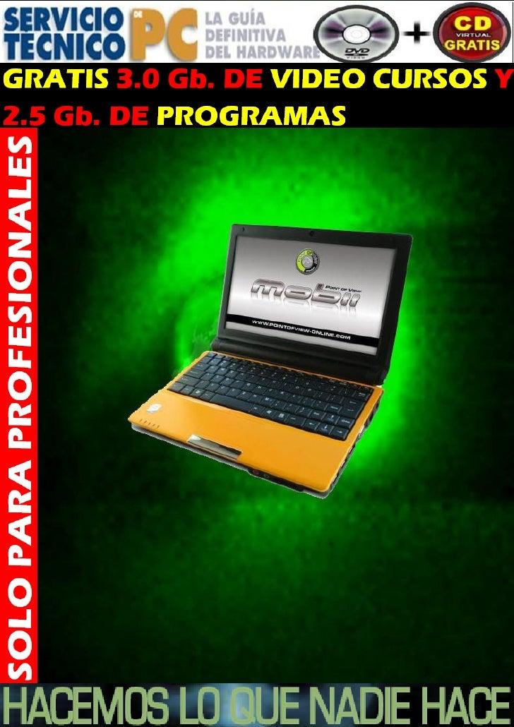 Curso de mantenimiento de computadoras 2013