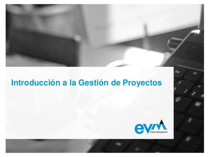 Curso dirección de proyectos