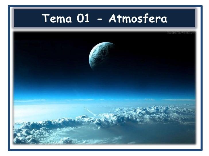 Tema 01 - Atmosfera