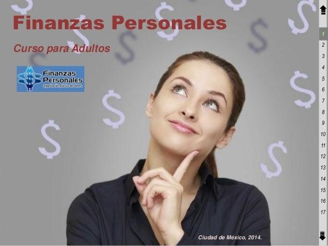 Curso finanzas personales adultos 2014