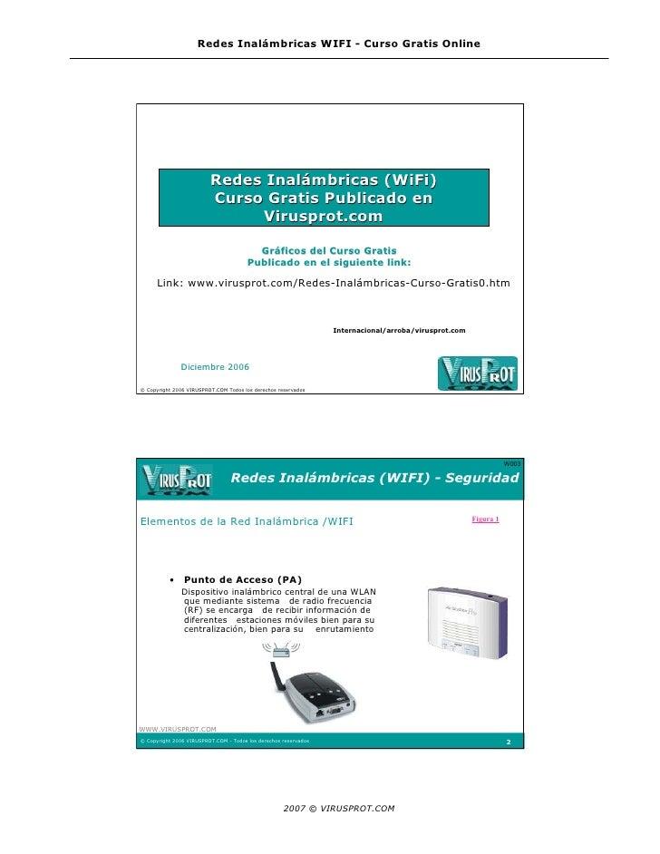 Redes Inalámbricas WIFI - Curso Gratis Online                              Redes Inalámbricas (WiFi)                      ...