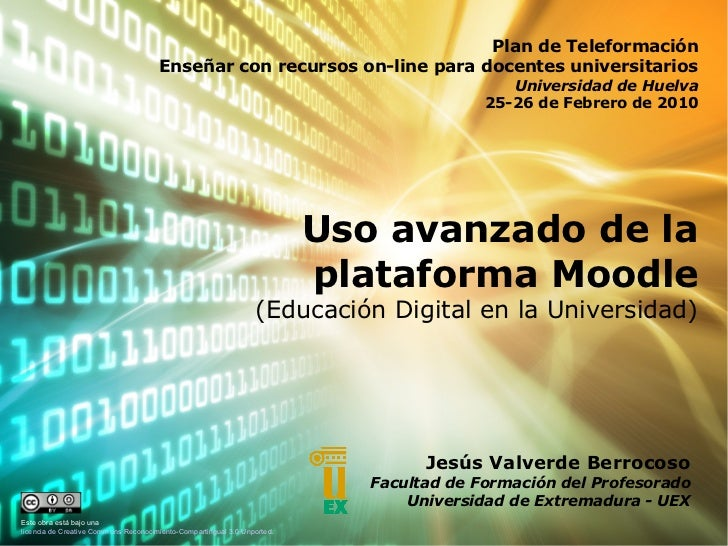 Plan de Teleformación                                       Enseñar con recursos on-line para docentes universitarios     ...