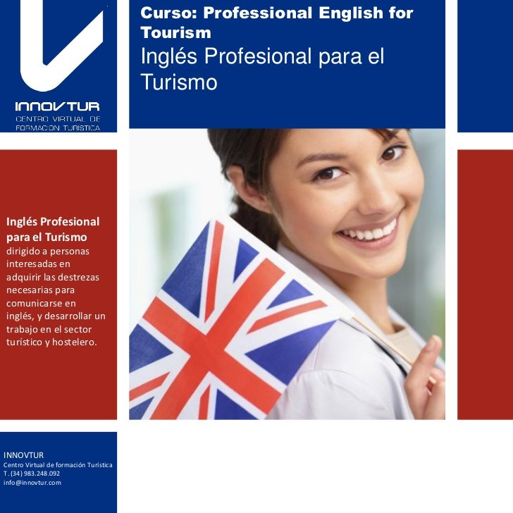Curso: Professional English for                                        Tourism                                        Ingl...