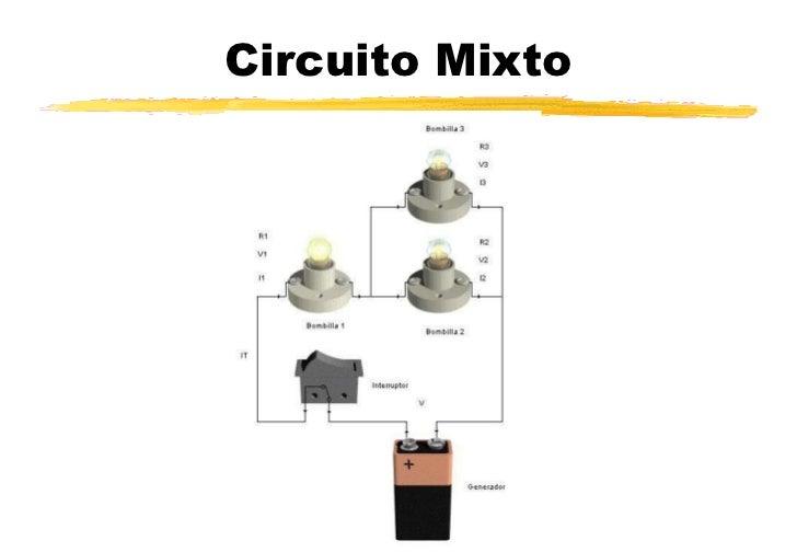 Circuito Mixto : Los circuitos elÉctricos en serie paralelo