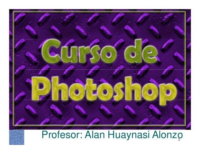Curso introductorio al photoshop