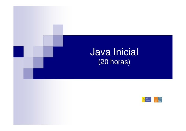 Java Inicial (20 horas)