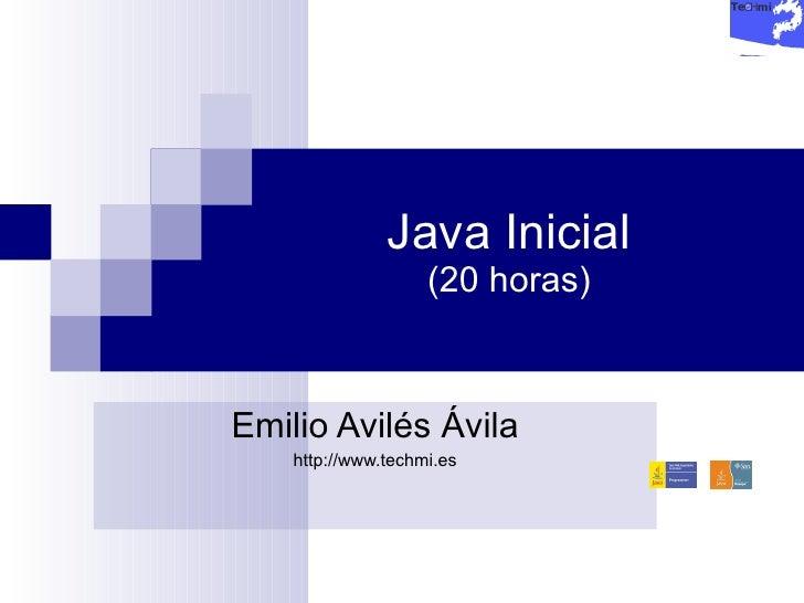 Curso Java Inicial   3 Sentencias De Control De Flujo