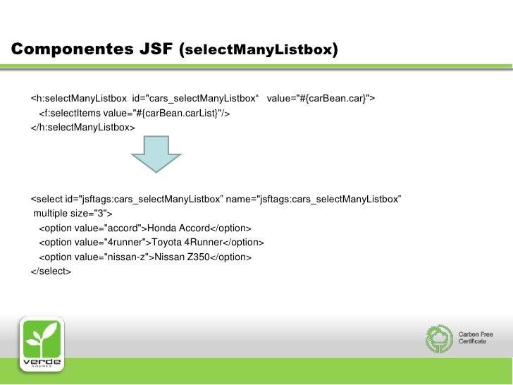 jsf selectitems