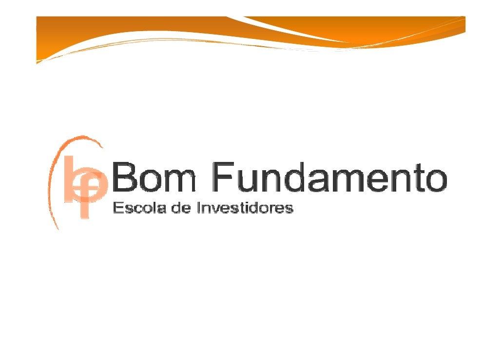 EleandroMarques       El   d M E‐maileleandro@bomfundamento.com.br         Joinville‐ 04730263260       www.bomfunda...